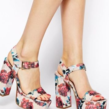 ASOS SALON SHOWREEL Heeled Sandals