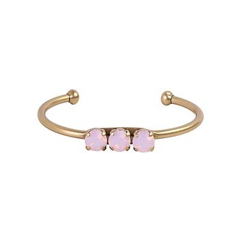 ROSALIE CUFF IN ROSE OPAL