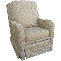 Angel Song 202621187Down Firenze Tan Adult Kensington Recliner w/ Plush Down Cushion