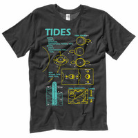 Tidal Patterns T-Shirt