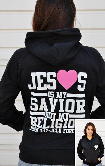 Jesus Is My Savior Not My Religion Zip From Jjclu Forever Me
