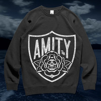 Darkness Inside Me Shield (Black Crewneck)