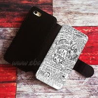 Panic at the disco Wallet iPhone cases Band Samsung Wallet Leather Phone Case
