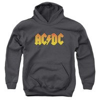 Acdc - Logo Youth Pull Over Hoodie