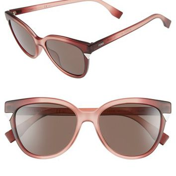 Fendi 53mm Cat Eye Sunglasses | Nordstrom