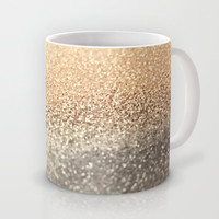 Celebrate your coffee - tea - hot chocolate with *** GATSBY GOLD *** Mug by Monika Strigel in two sizes !!!