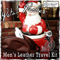Men's Leather Travel Kit