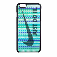 Nike Just Do It Aztec Mint Green iPhone 6 Case