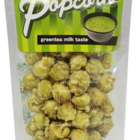Green Tea Milk Pop Corn