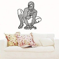 SPIDER MAN Wall MURAL Vinyl Sticker Kids ROOM S. 2481