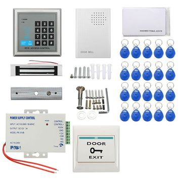 New Arrival  Security RFID Access Control Electric Magnetic Door Lock ID Card Password System Durable Quality