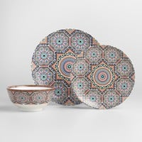 Moroccan Bazaar Dinner Plate Set
