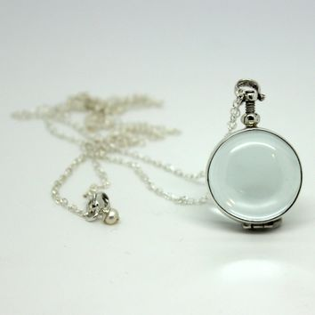 Glass Locket Necklaces