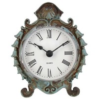 Antique Blue Pewter Table Clock | Shop Hobby Lobby