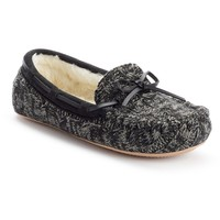 SONOMA life + style Women's Sweater Moccasin Slippers