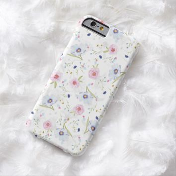 Claire Blossom Elegance flower Barely There iPhone 6 Case