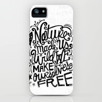 NATURE MADE US WILD... iPhone & iPod Case by Matthew Taylor Wilson