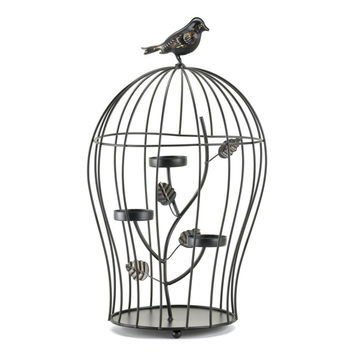 Darling Triple Candle Holder Birdcage