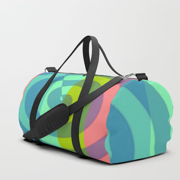zappwaits satisfaction Duffle Bag by netzauge
