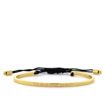 Vince Camuto Gold-Tone Paris Bangle Bracelet