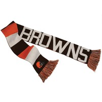 Cleveland Browns - Baker Reversible Striped Knit Scarf