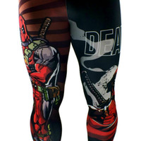 S2 Activewear - Deadpool Men's Compression Leggings