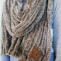 Keep It Classic Scarf - Taupe