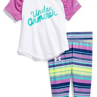 Infant Girl's Under Armour Graphic Tee & Pants