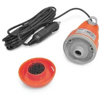 Pure Clean Handheld Portable Shower / Wash System, Vehicle Plug-in Powered (for Camping, Boating, Pet Cleaning, etc.)