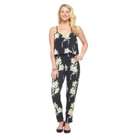 Printed Challis Popover Jumpsuit - 3Hearts