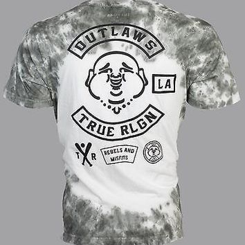 556a55c9c Licensed Official TRUE RELIGION Mens T-Shirt OUTLAWS Buddha Dark. Received  new batch of ...