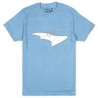 Nausicaa's Glider-Unisex Heather Lake Blue T-Shirt