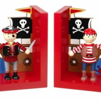 Pirate Bookends by Orange Tree Toys