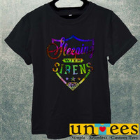 Sleeping With Sirens Galaxy Logo Men T Shirt
