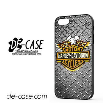 Harley Davidson Motorcycle Logo DEAL-5049 Apple Phonecase Cover For Iphone 5 / Iphone 5S