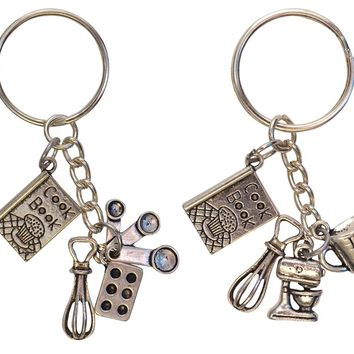Baker Lover Key Chains-Perfect Holiday Gifts