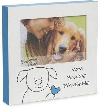 Mom you're pawsome Picture Photo Frame