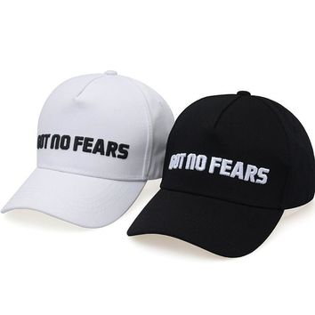 2017 brand Snapback Baseball Cap For Men Women Snapback Boutique Embroidery got no fear Cap Fashion Casual Cotton Cap  Dad Hat