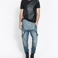 DENIM JUMPER - Jeans - Man | ZARA United States