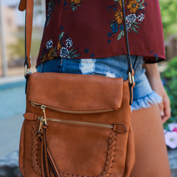 Make A Move Crossbody - Camel