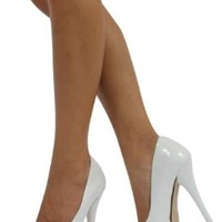 Delicious Women's Jones Round Toe Platform High Heel Pumps