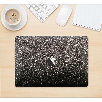 "The Black Unfocused Sparkle Skin Kit for the 12"" Apple MacBook"