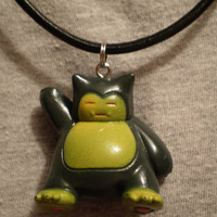 Pokemon Snorlax Charm Necklace