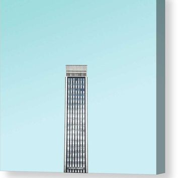 Urban Architecture - Oxford Street, London, United Kingdom 2 - Canvas Print