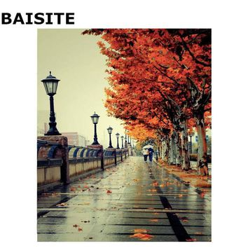 BAISITE DIY Acrylic Painting By Numbers Hand Painted Canvas Modern Wall Picture For Living Room Home Decor Wall Art H308