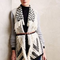 Amba Fringed Cardigan by Moth