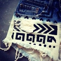 Wear / Bleach and Tribal Shorts on imgfave