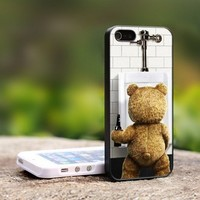 New Ted The Movie Funny Bear - For iPhone 5 Black Case Cover