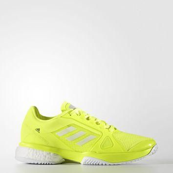 adidas by Stella McCartney Barricade Boost 2017 Shoes - Yellow | adidas US