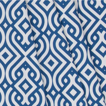 "Home Essentials Print Fabric 45""-Clezar Panorama Indigo 